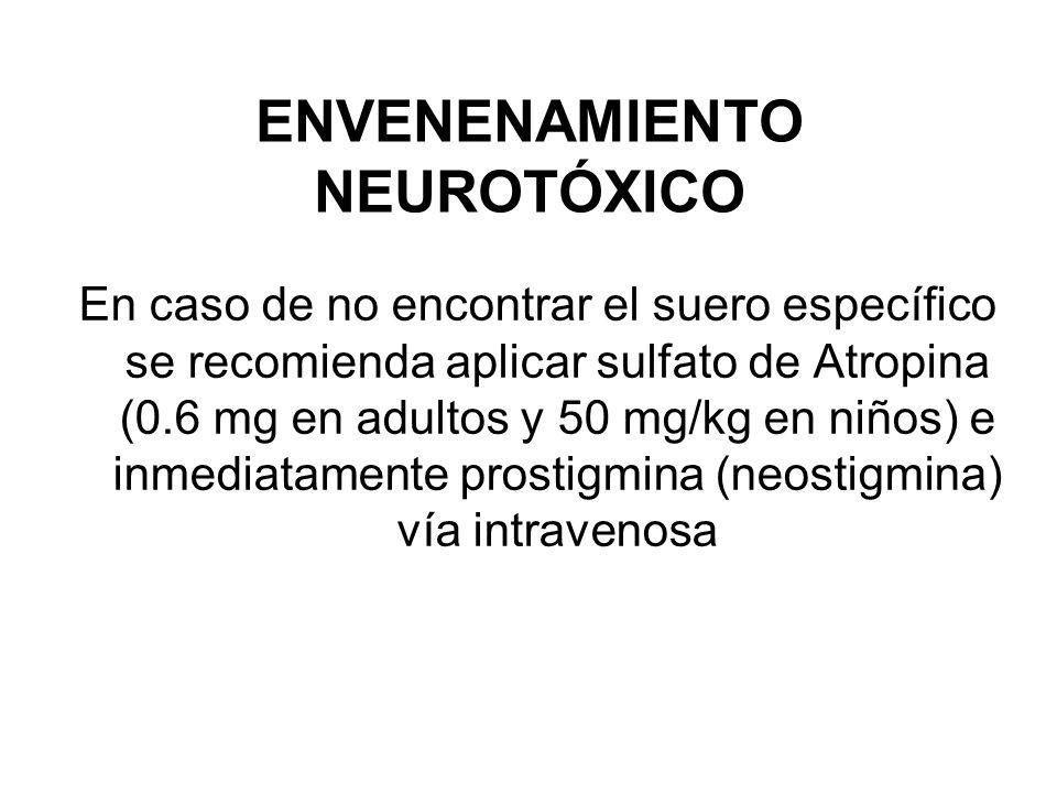 ENVENENAMIENTO NEUROTÓXICO