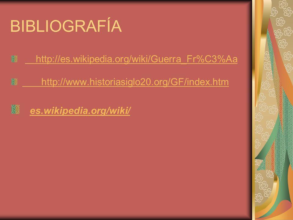 BIBLIOGRAFÍA es.wikipedia.org/wiki/