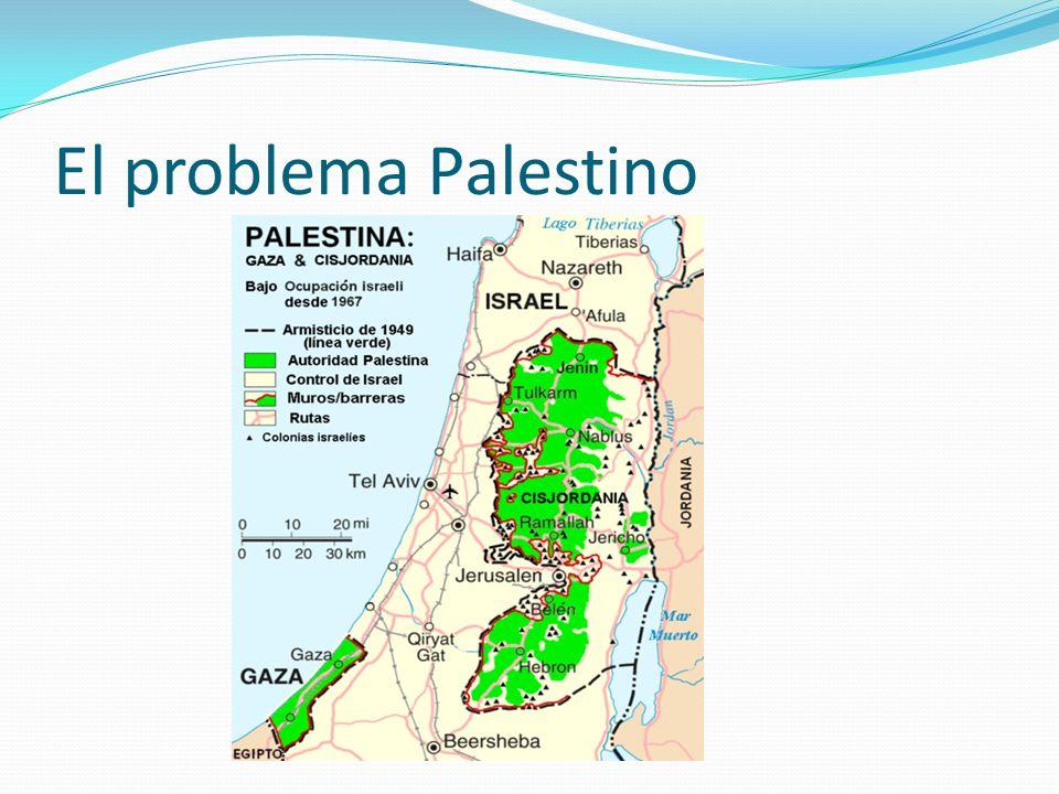 El problema Palestino