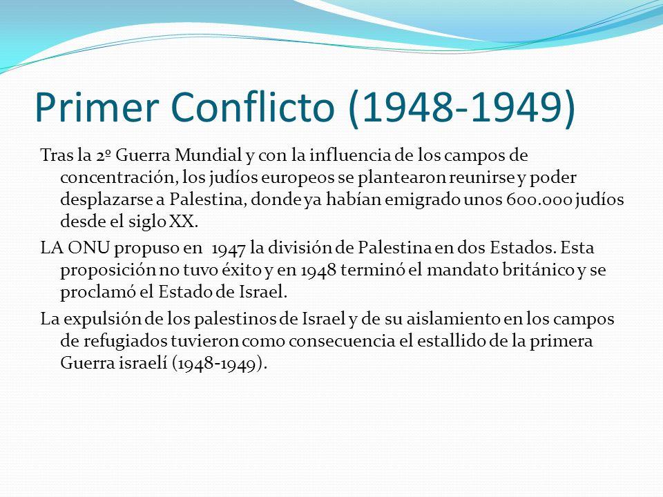 Primer Conflicto (1948-1949)