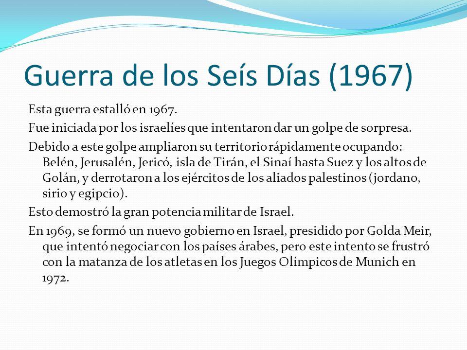 Guerra de los Seís Días (1967)