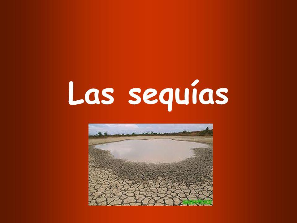 Las sequías