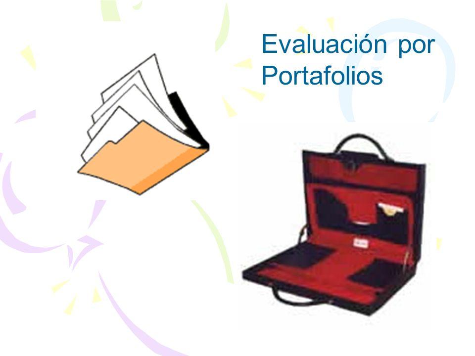 Evaluación por Portafolios