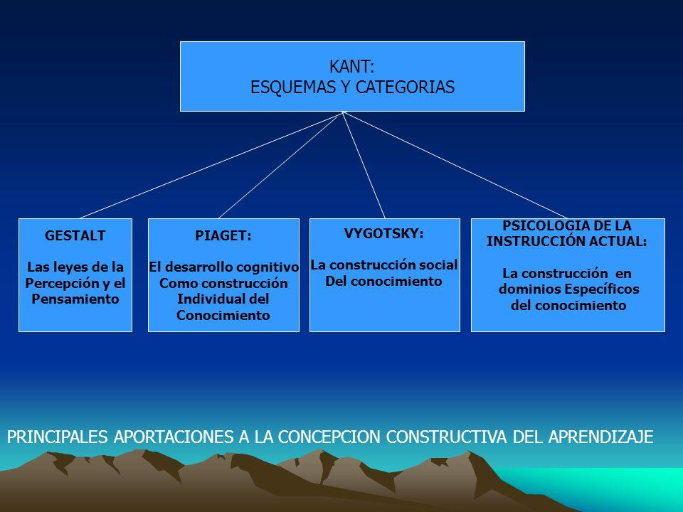 El desarrollo cognitivo La construcción social