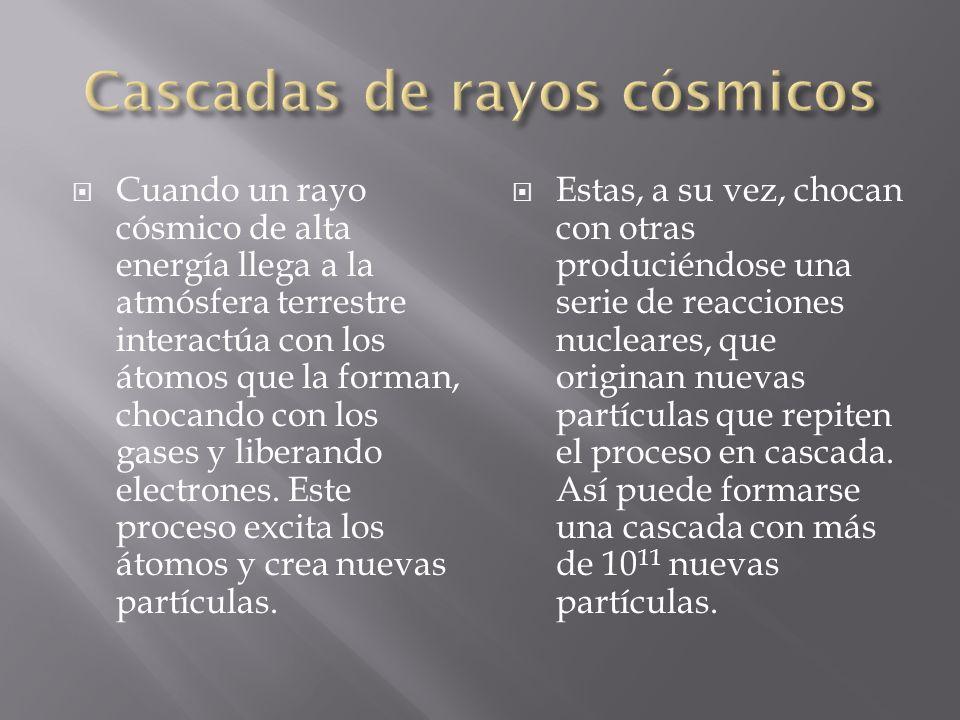 Cascadas de rayos cósmicos