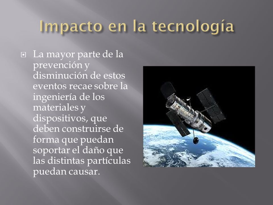 Impacto en la tecnología