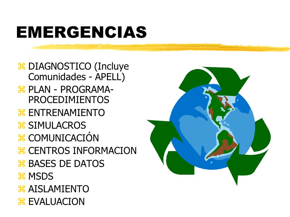 EMERGENCIAS DIAGNOSTICO (Incluye Comunidades - APELL)