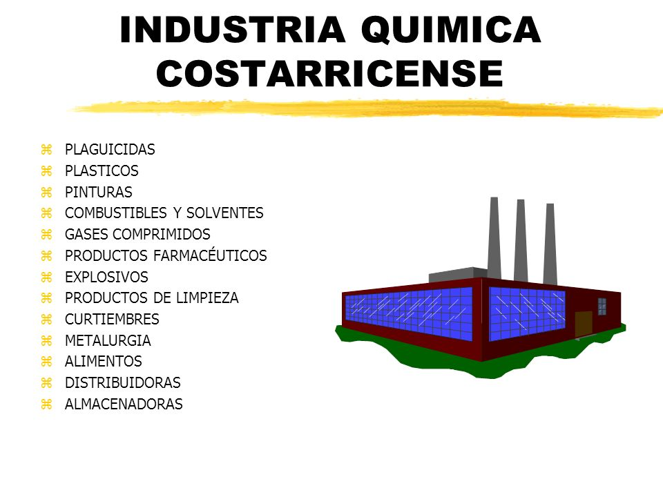 INDUSTRIA QUIMICA COSTARRICENSE