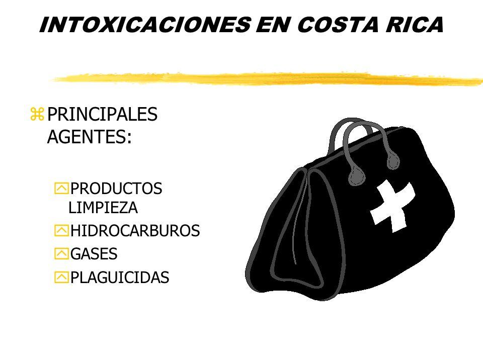 INTOXICACIONES EN COSTA RICA