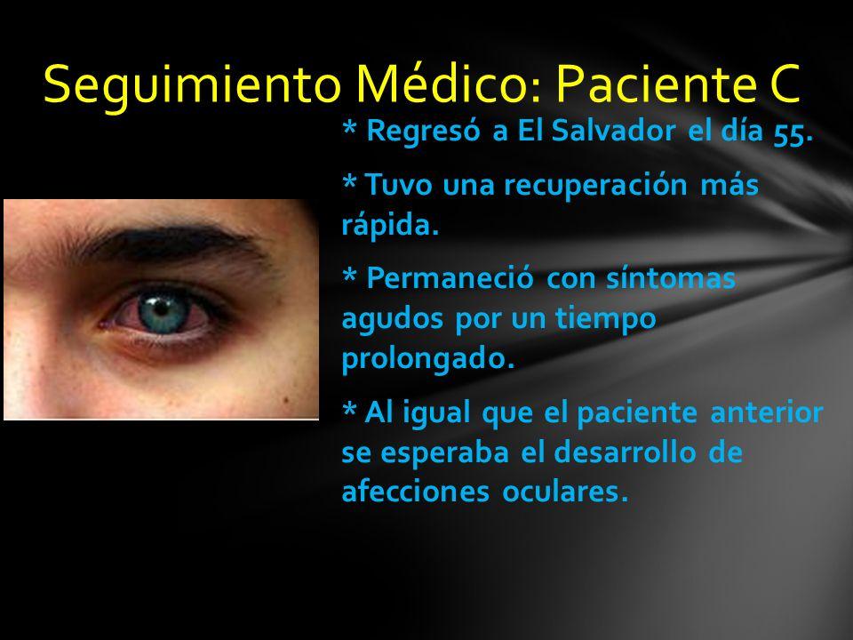 Seguimiento Médico: Paciente C