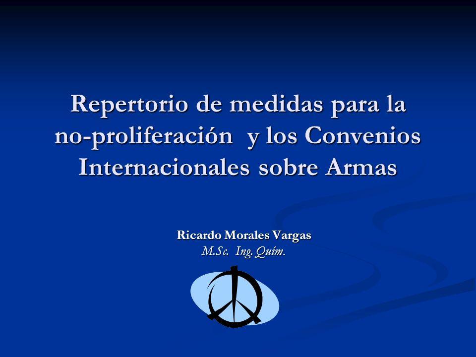 Ricardo Morales Vargas M.Sc. Ing. Quím.