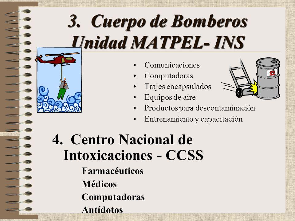 3. Cuerpo de Bomberos Unidad MATPEL- INS