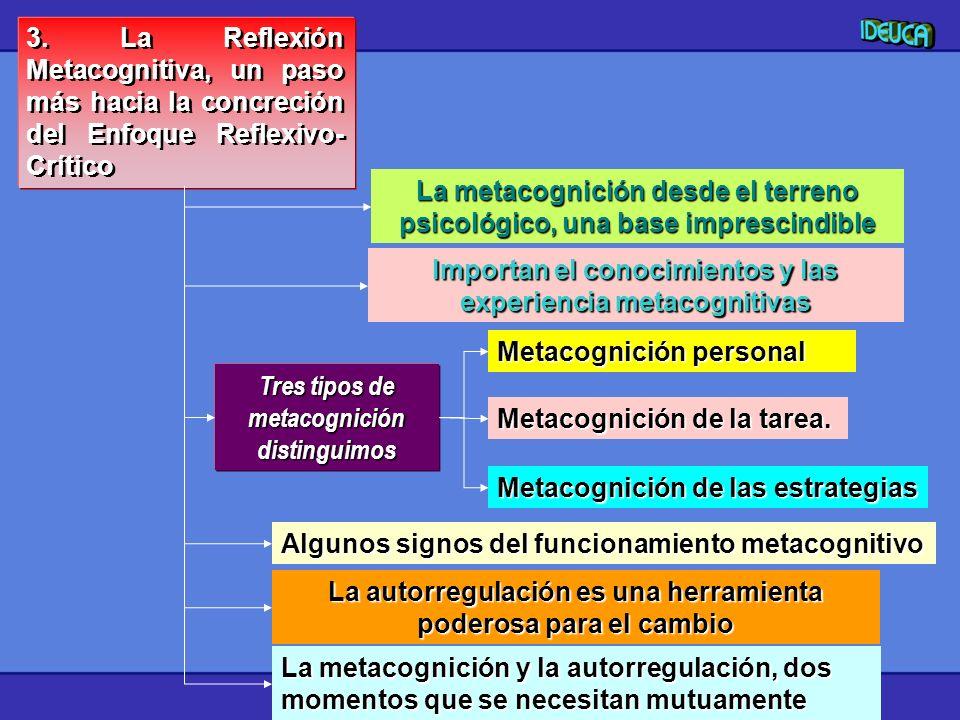La metacognición desde el terreno psicológico, una base imprescindible