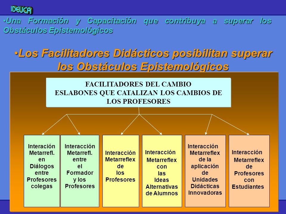 Una Formación y Capacitación que contribuya a superar los Obstáculos Epistemológicos