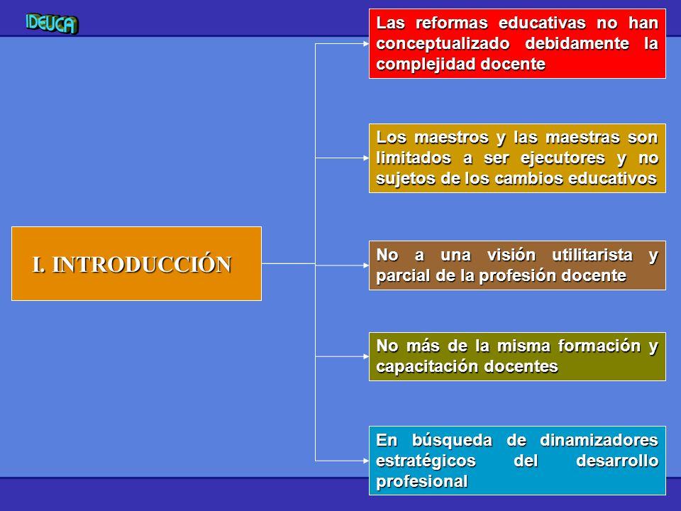 Las reformas educativas no han conceptualizado debidamente la complejidad docente
