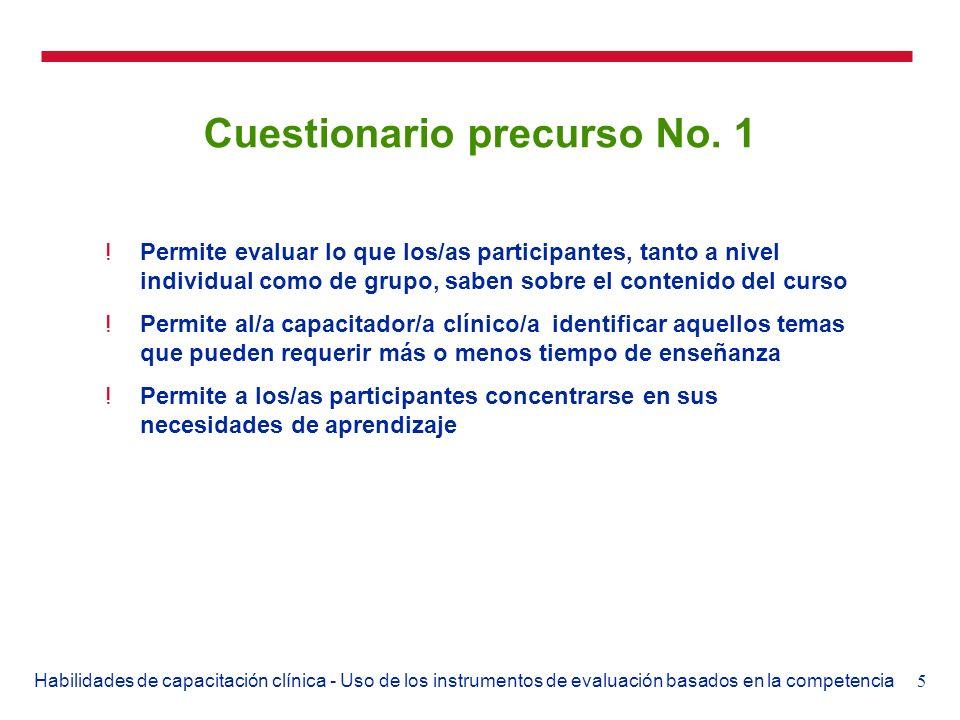 Cuestionario precurso No. 1