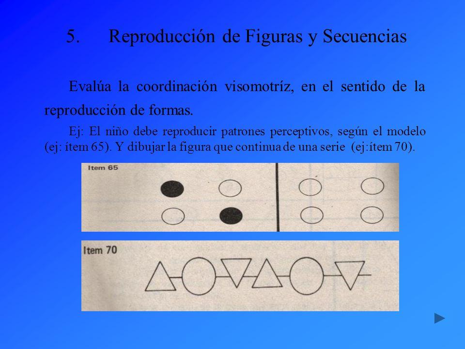 Reproducción de Figuras y Secuencias