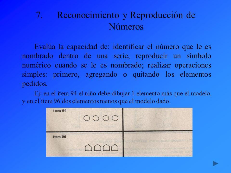 Reconocimiento y Reproducción de Números