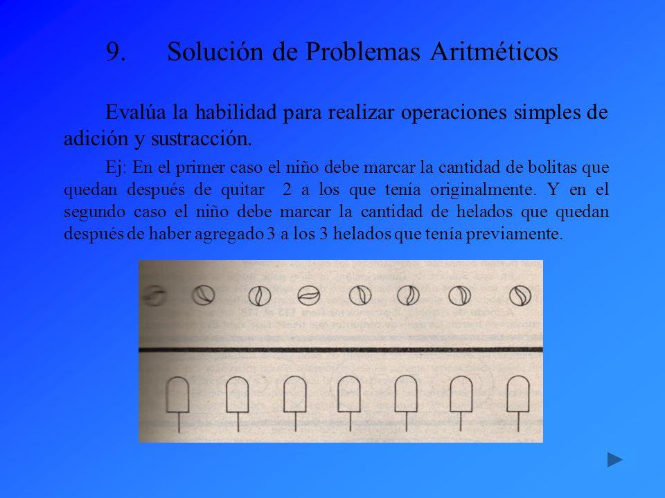 Solución de Problemas Aritméticos