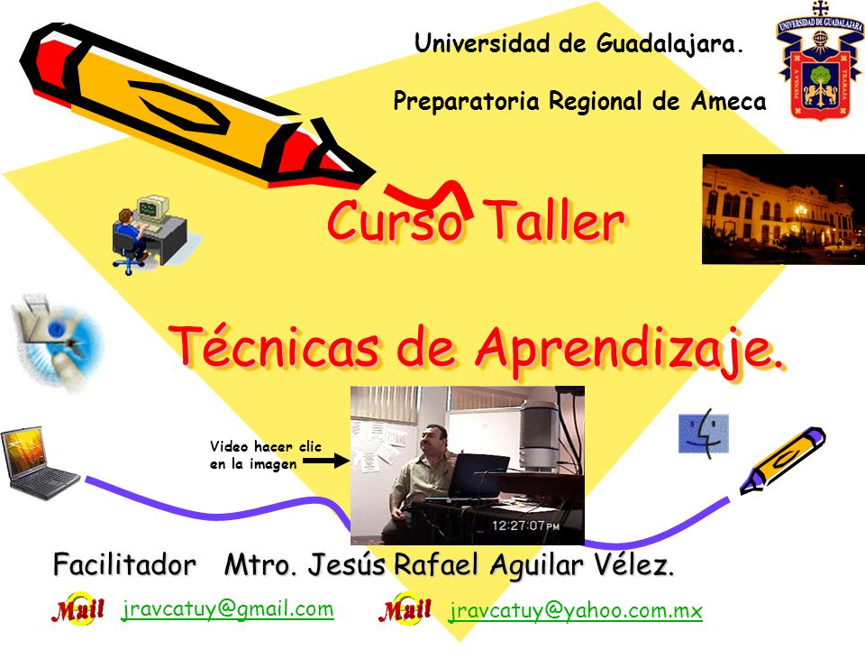 Curso Taller Técnicas de Aprendizaje.