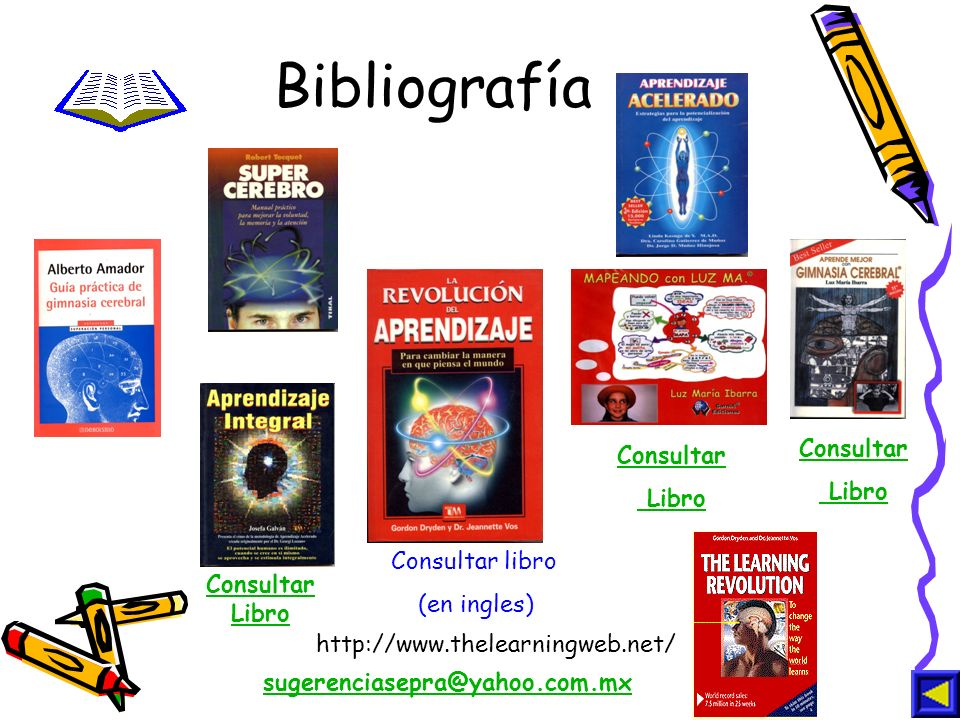 Bibliografía Consultar Consultar Libro Libro Consultar libro