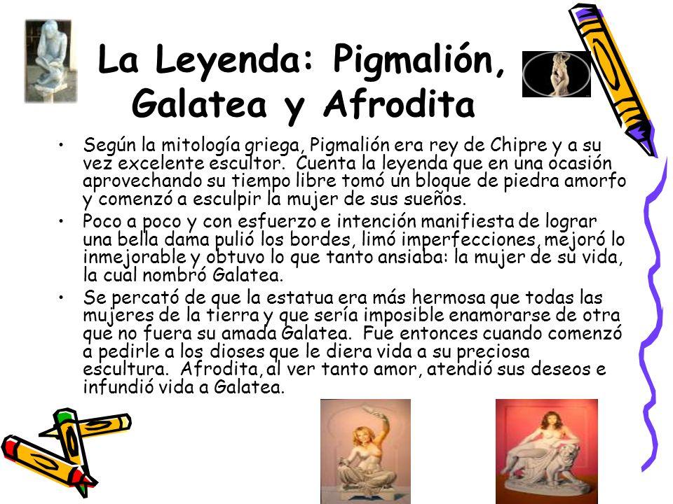 La Leyenda: Pigmalión, Galatea y Afrodita