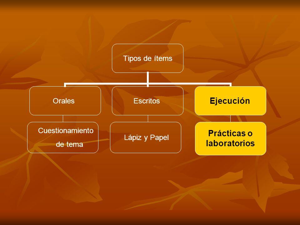 Prácticas o laboratorios