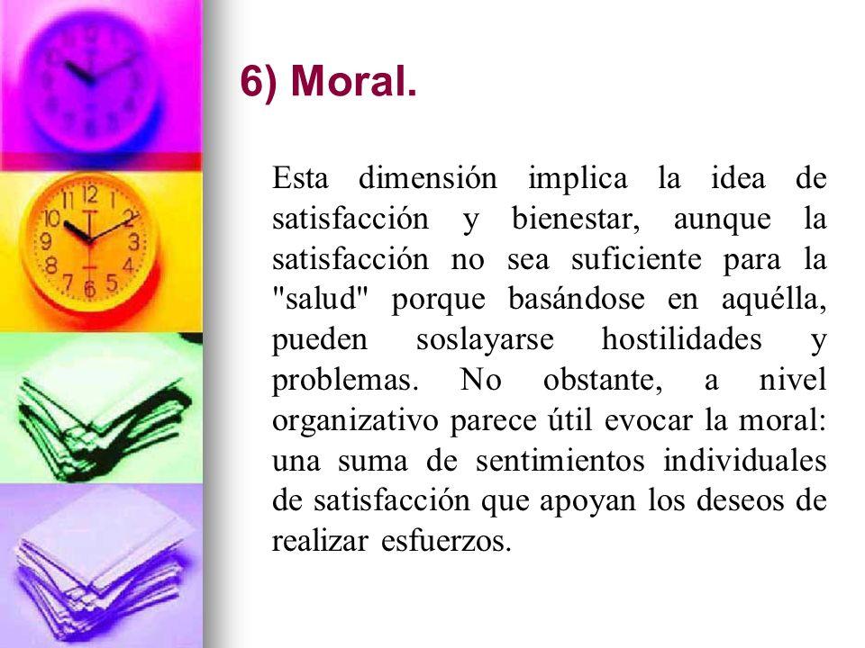 6) Moral.