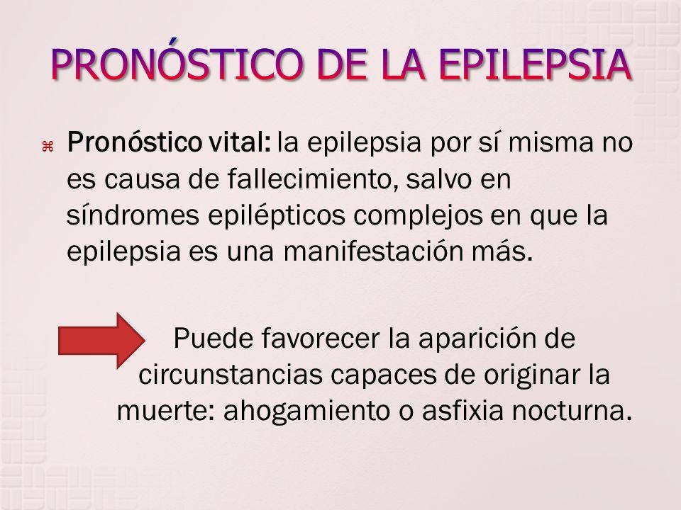 PRONÓSTICO DE LA EPILEPSIA