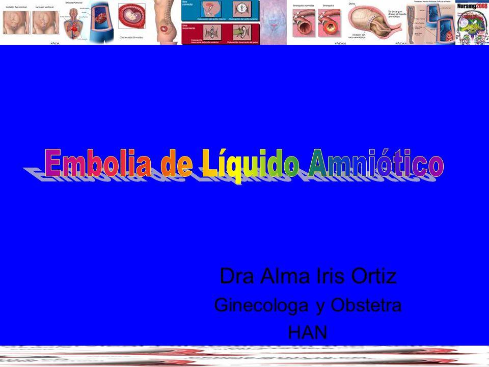 Dra Alma Iris Ortiz Ginecologa y Obstetra HAN