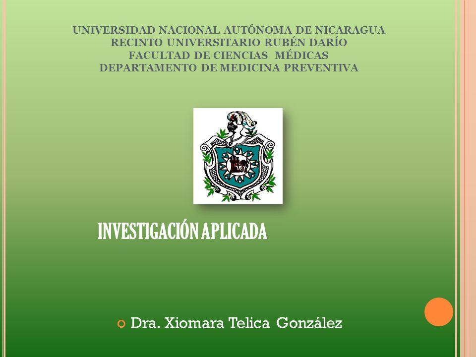 Dra. Xiomara Telica González
