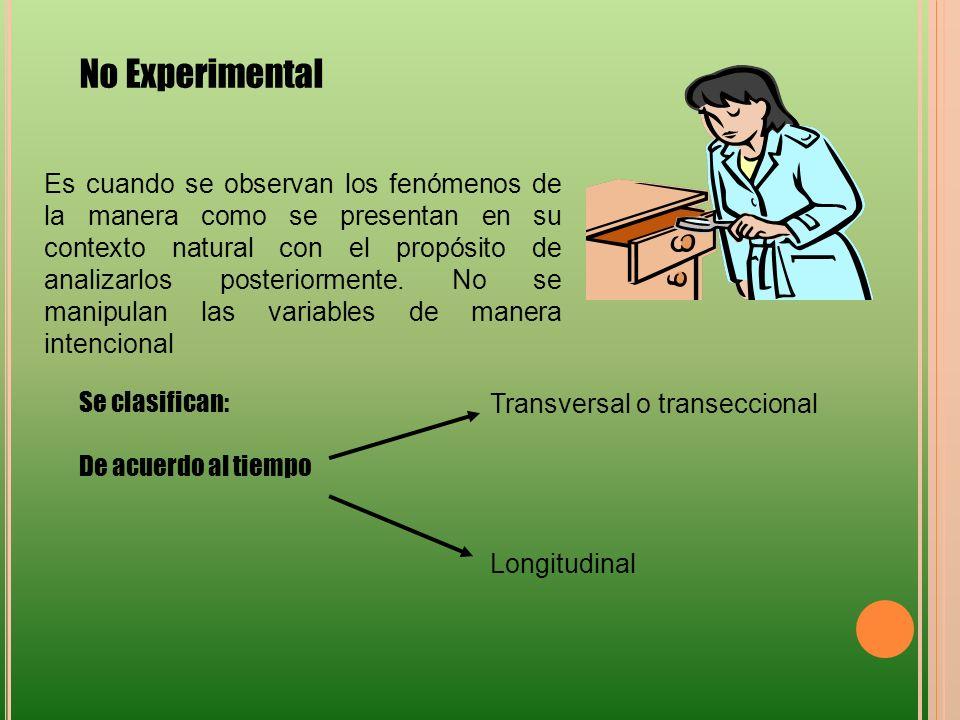 No Experimental