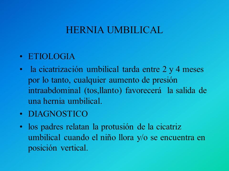 HERNIA UMBILICAL ETIOLOGIA