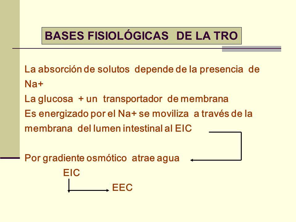 BASES FISIOLÓGICAS DE LA TRO