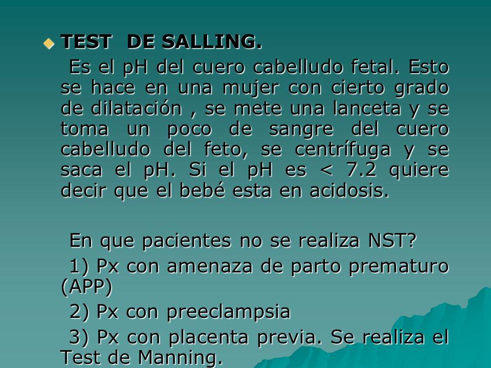 TEST DE SALLING.