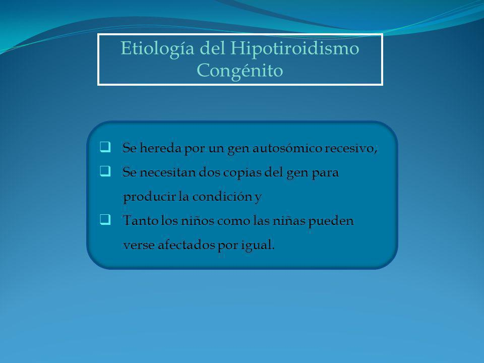Etiología del Hipotiroidismo