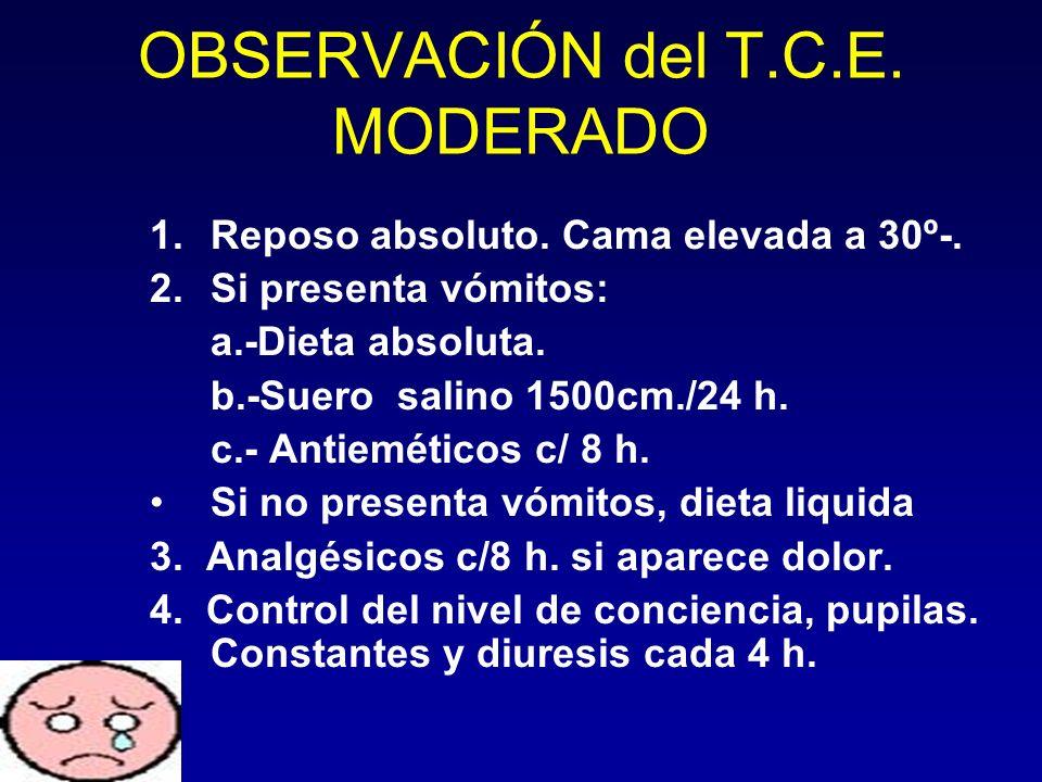 OBSERVACIÓN del T.C.E. MODERADO