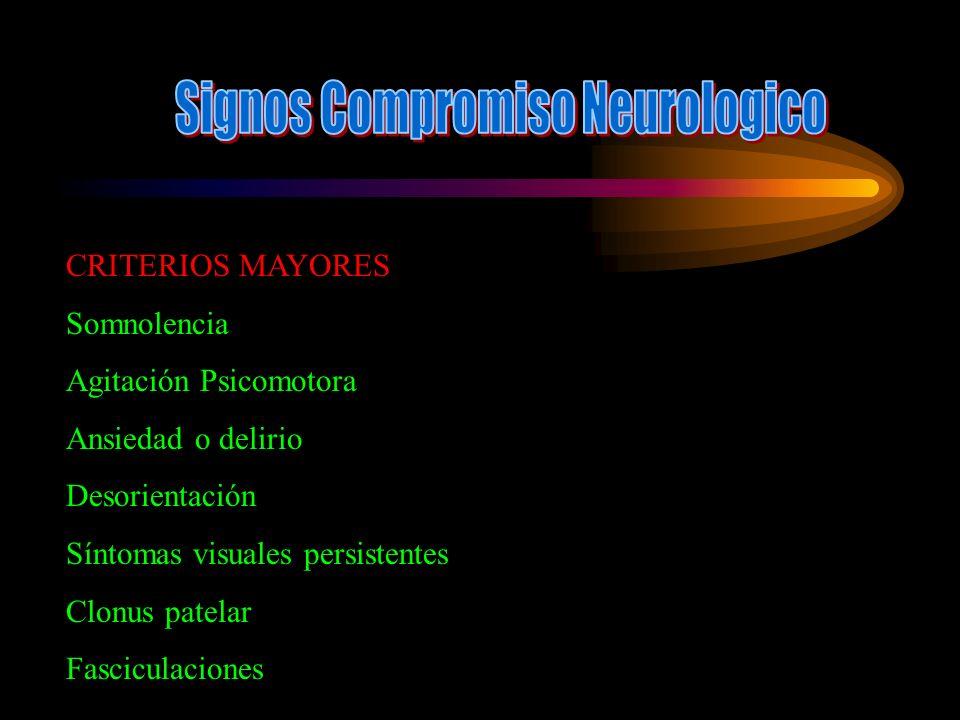 Signos Compromiso Neurologico