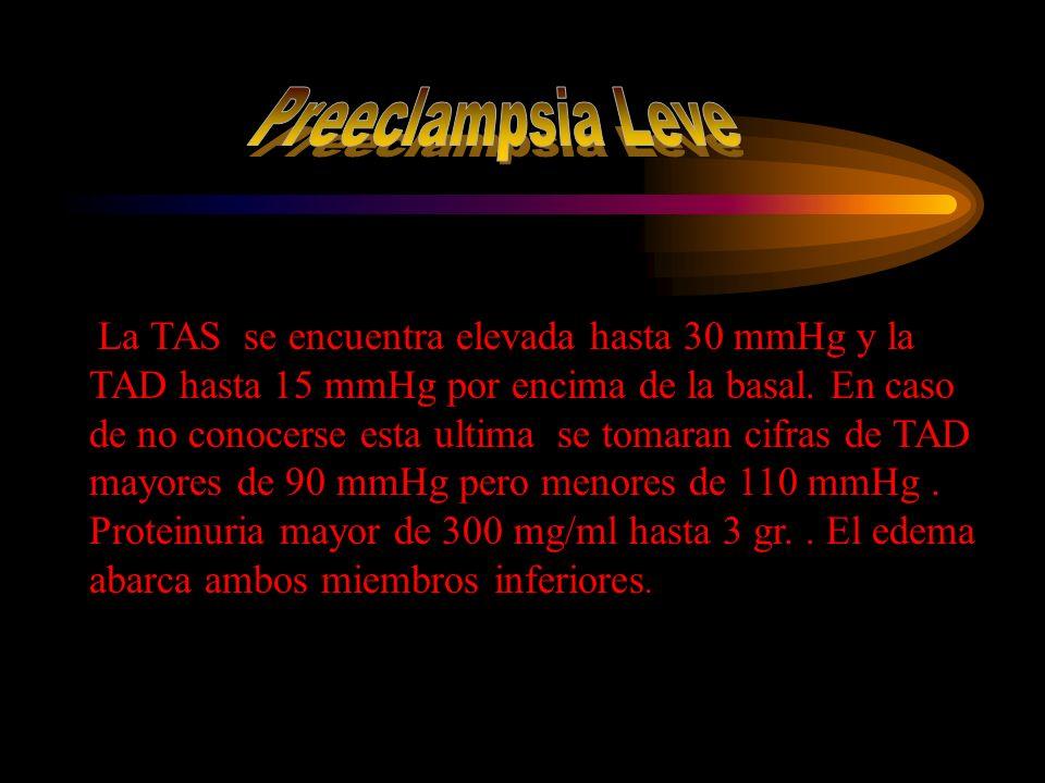 Preeclampsia Leve