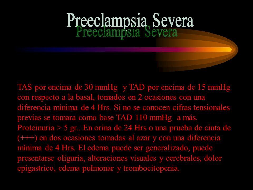 Preeclampsia Severa
