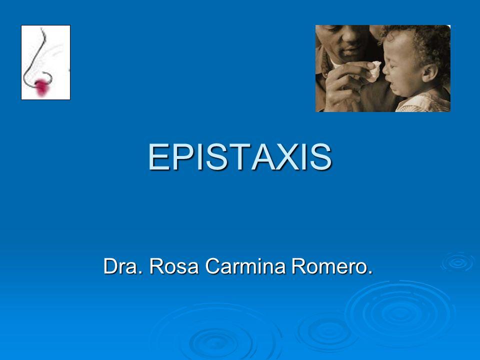 Dra. Rosa Carmina Romero.