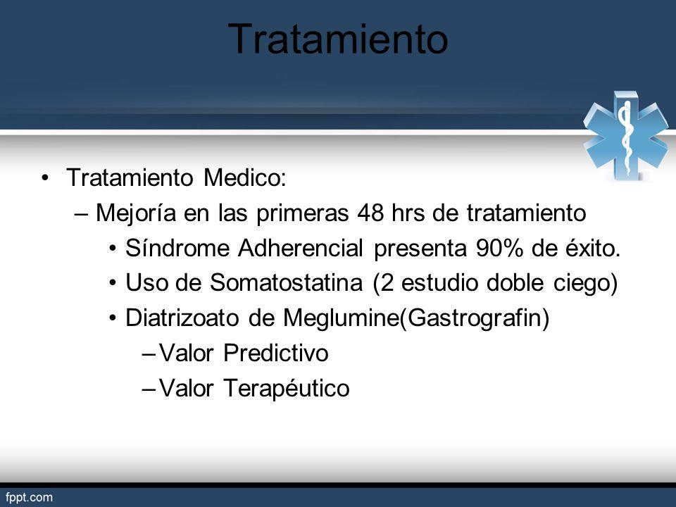 Tratamiento Tratamiento Medico: