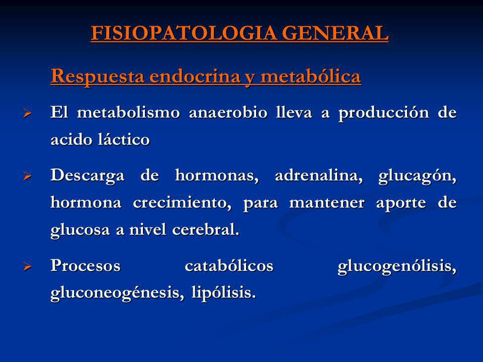 FISIOPATOLOGIA GENERAL