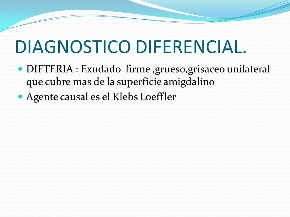DIAGNOSTICO DIFERENCIAL.