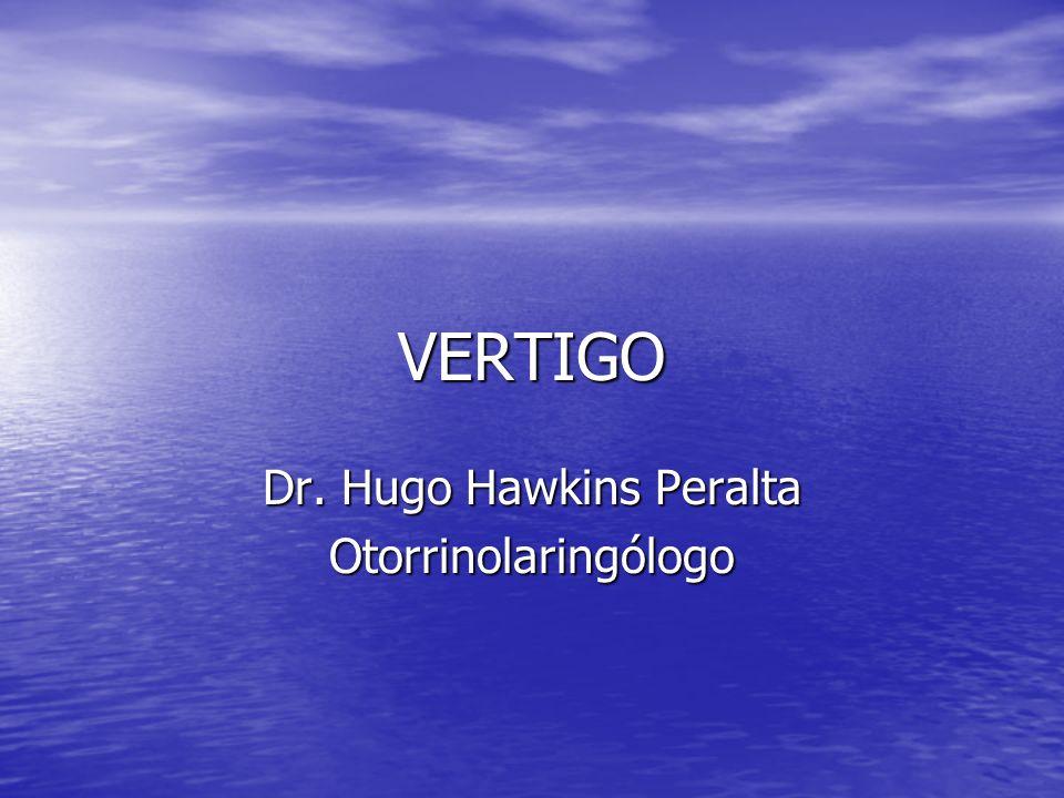 Dr. Hugo Hawkins Peralta Otorrinolaringólogo