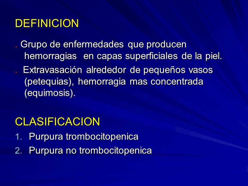 DEFINICION CLASIFICACION