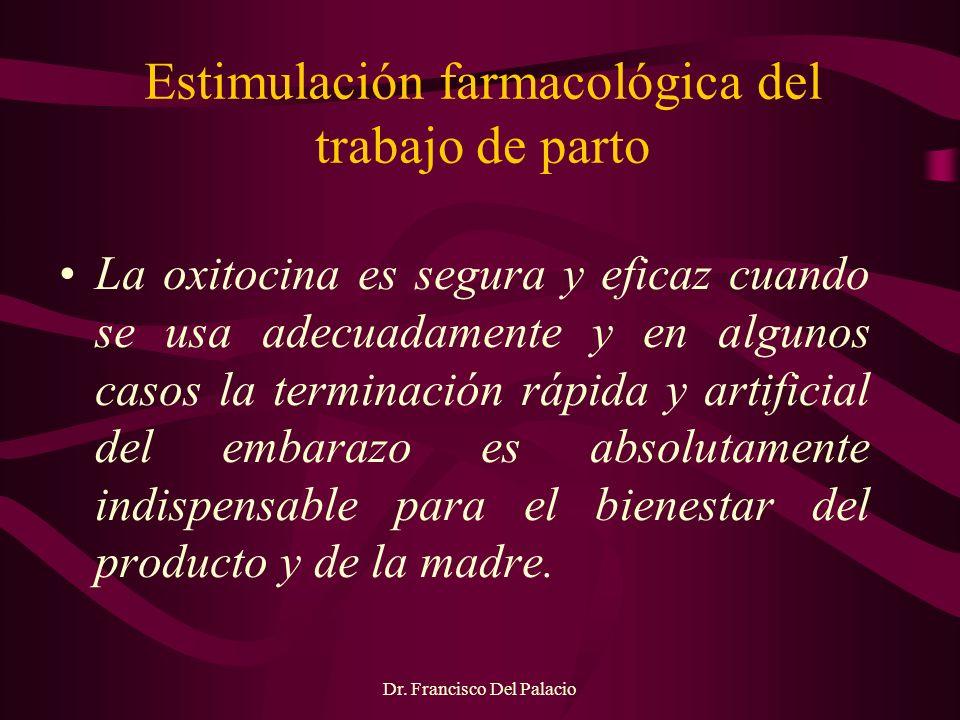 Estimulación farmacológica del trabajo de parto