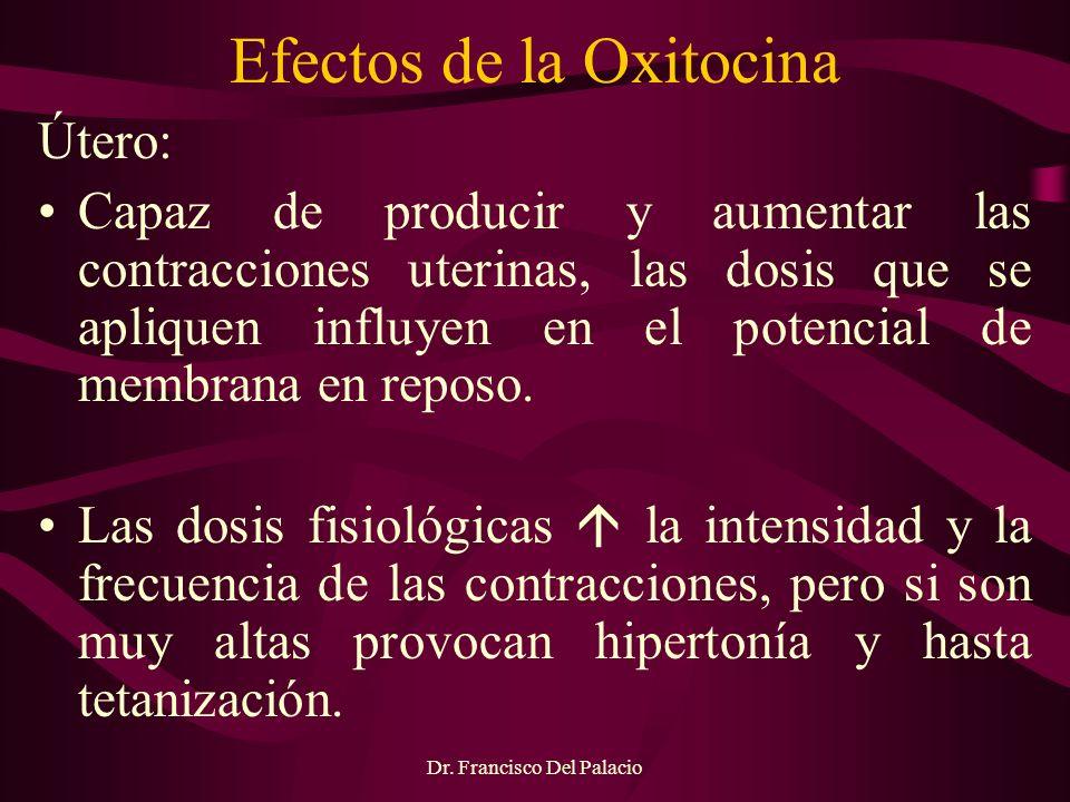 Efectos de la Oxitocina