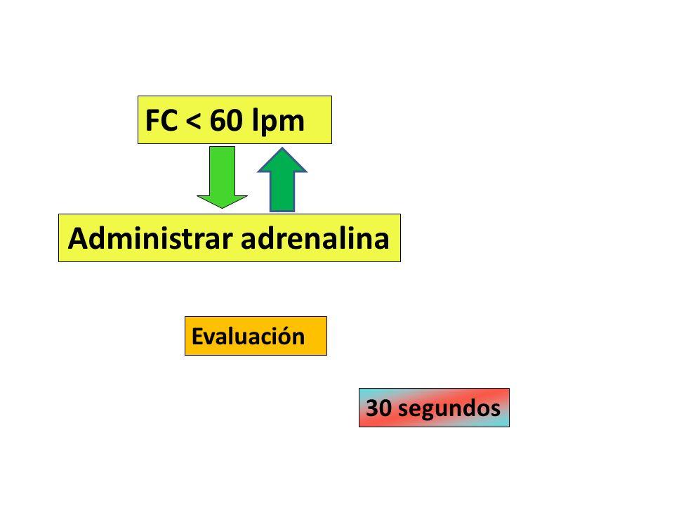 Administrar adrenalina