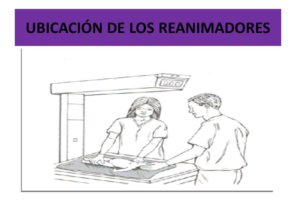 UBICACIÓN DE LOS REANIMADORES